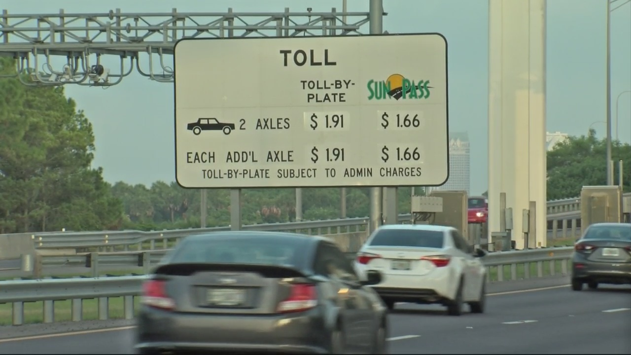 FDOT raises toll rates to keep up with inflation