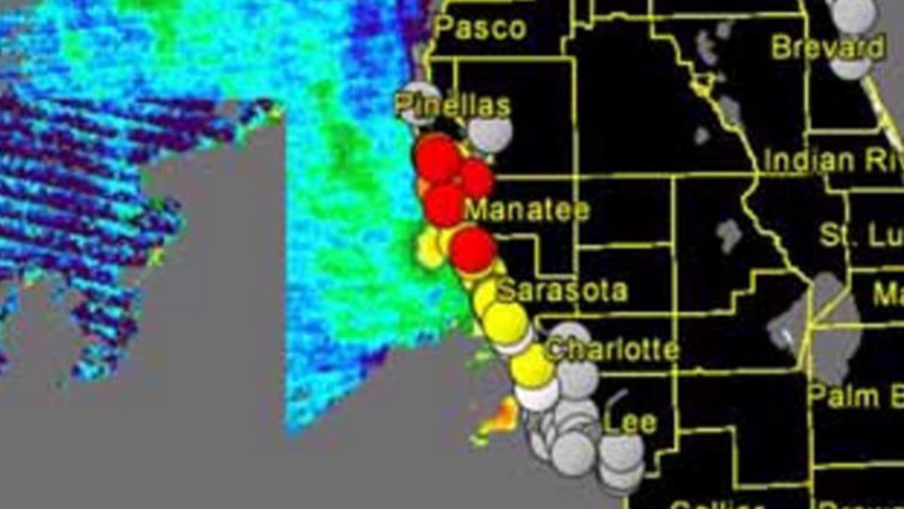 Red Tide Beach Hazard Warning Issued For Coastal Pinellas Sarasota