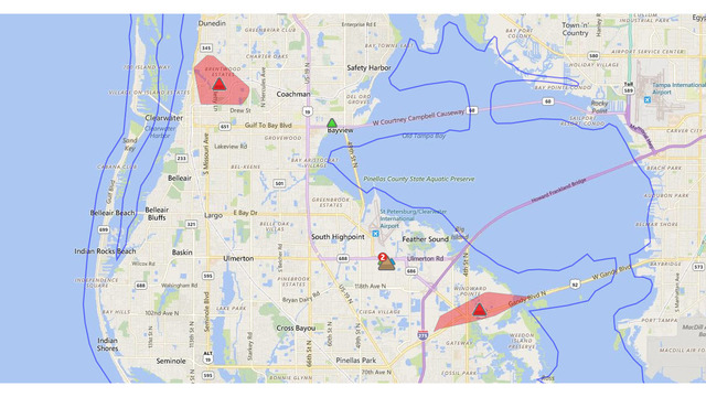 Power Restored To Most After Large Pinellas Outage