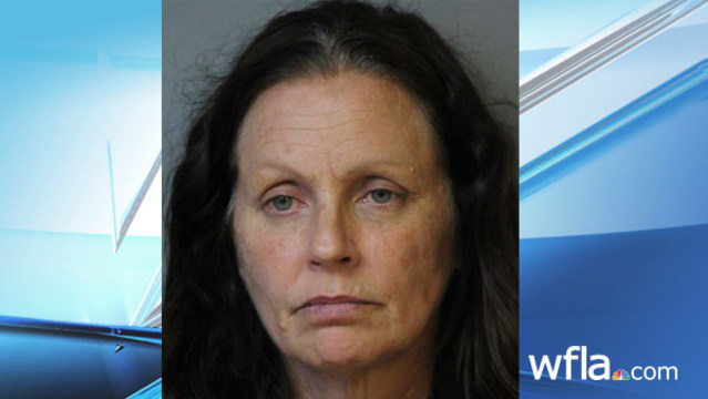 Polk woman arrested on meth charge after toddler in diaper found in road