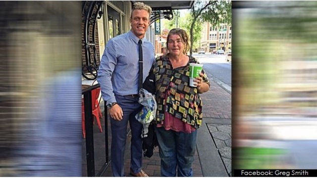 Paying it forward: Man helps homeless woman learn how to read