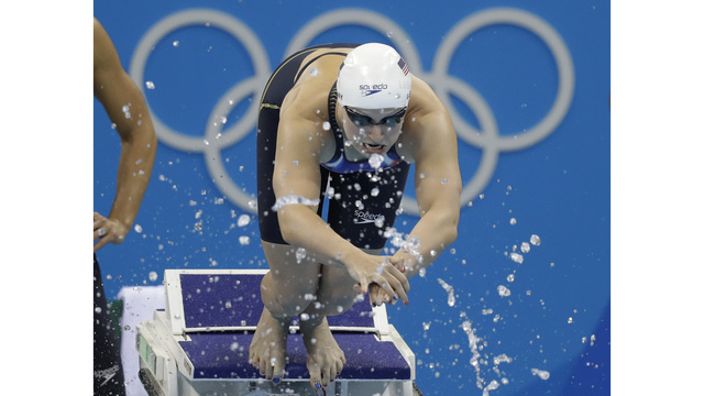 WATCH LIVE: Katie Ledecky aims to win Olympic gold