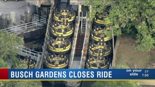Busch Gardens closes Congo River Rapids after 4 killed on similar ride in Australia