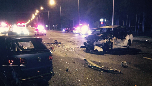 car crash tampa	  TRAGEDY: Tampa man lost wife, 2 children, in horrific crash that ...