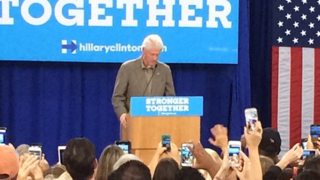 Bill Clinton to campaign in Pinellas County Tuesday