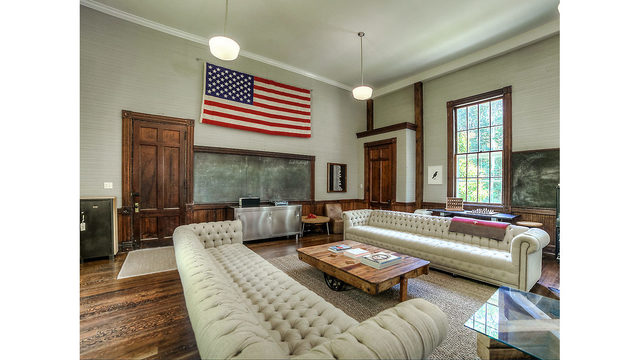 PHOTOS: Abandoned to boutique; a converted one-room schoolhouse