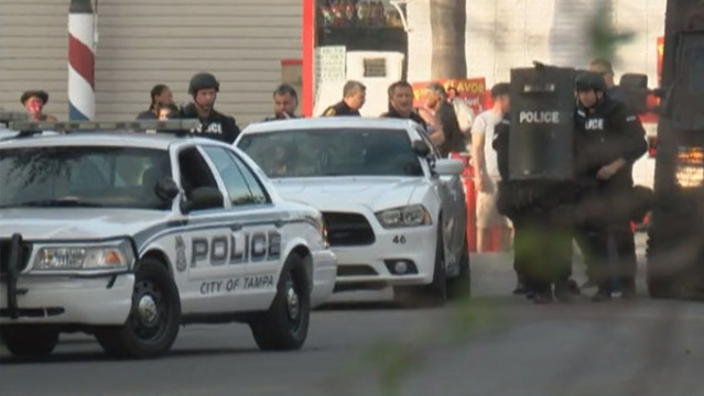 SWAT team called out for armed man in Tampa