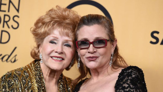 Debbie Reynolds and daughter Carrie Fisher linked by death