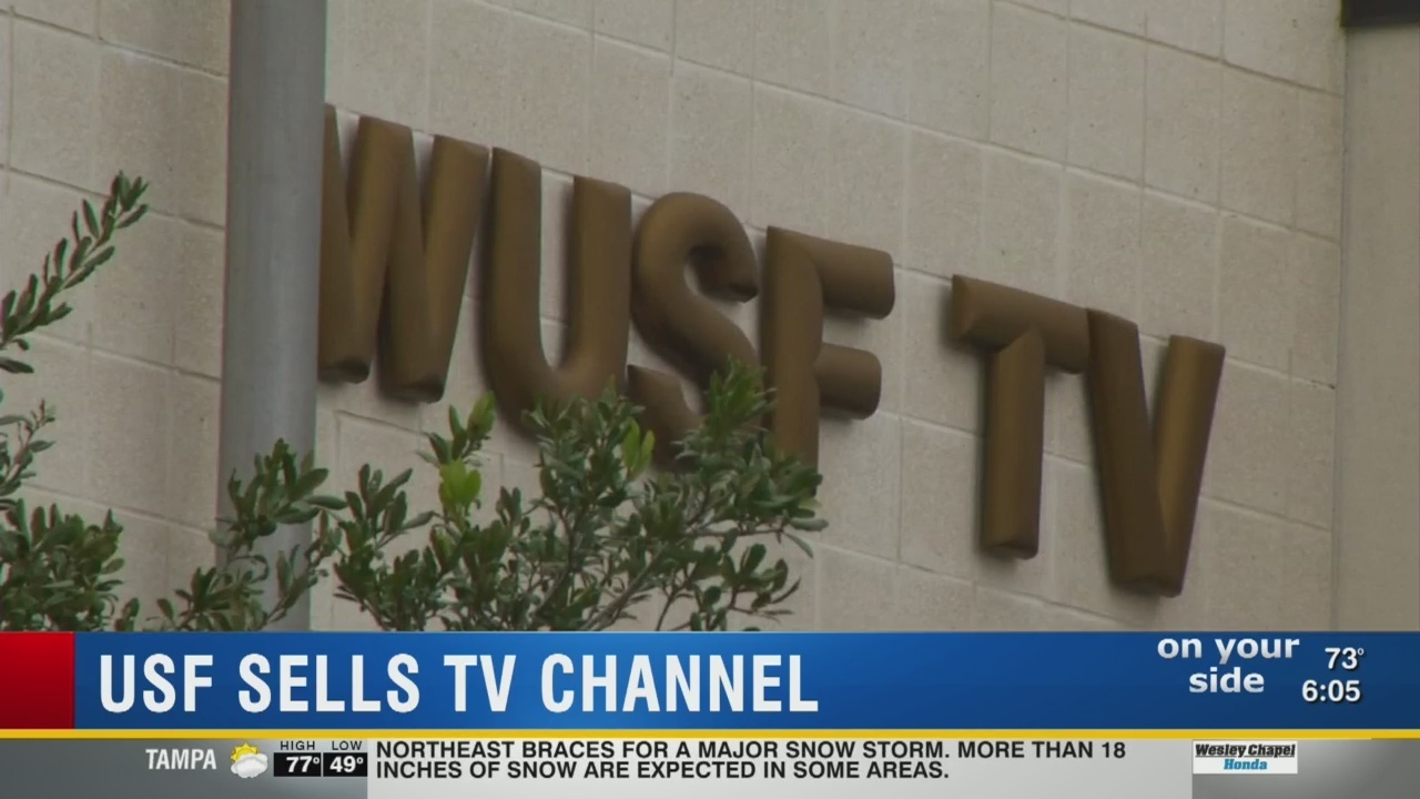 wusf-tv sells license for $18 million, will stop broadcasting