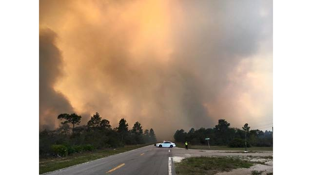 Polk officials want residents to prepare for wildfire season
