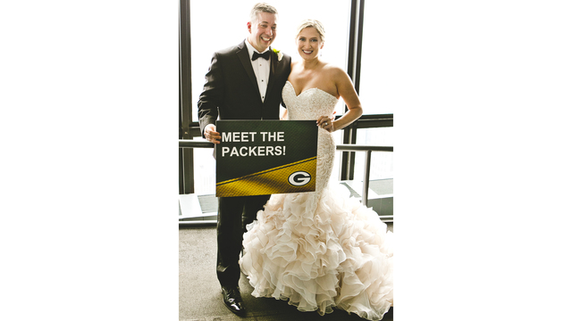 Green Bay Super Fan Takes Wife S Last Name Of Packer In Packers