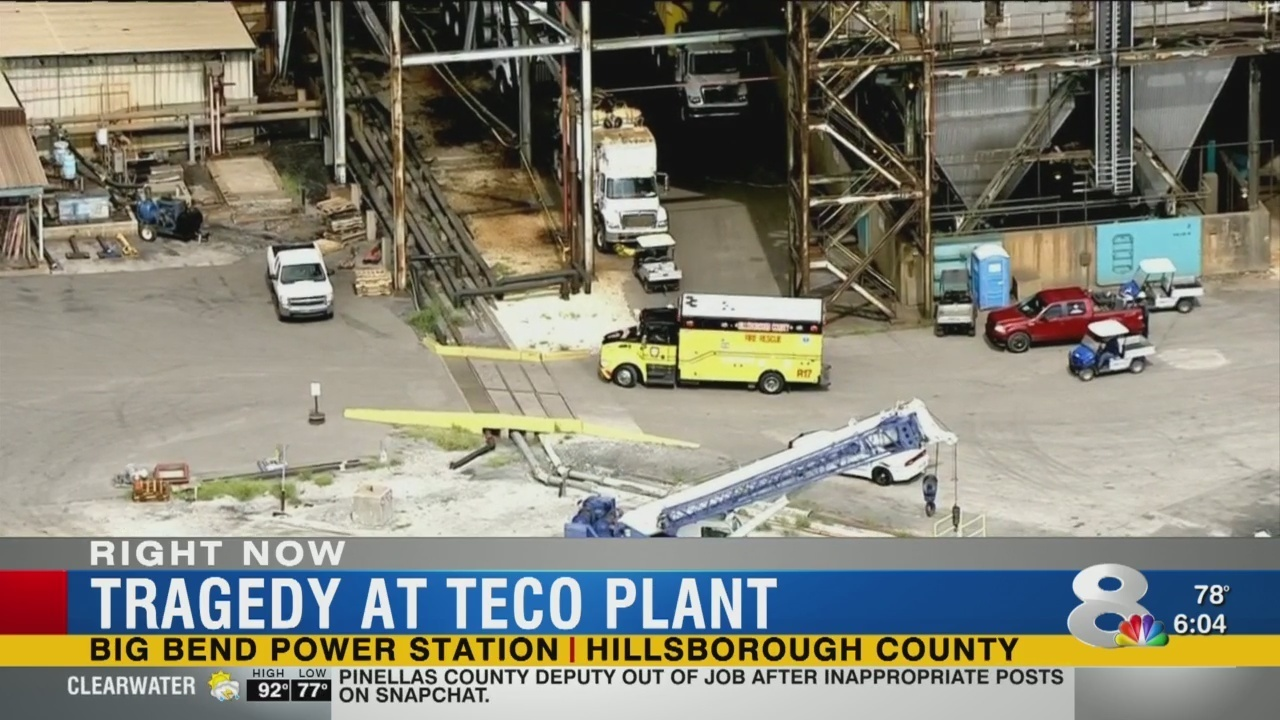 2 dead, 4 injured in accident at Tampa Electric power plant