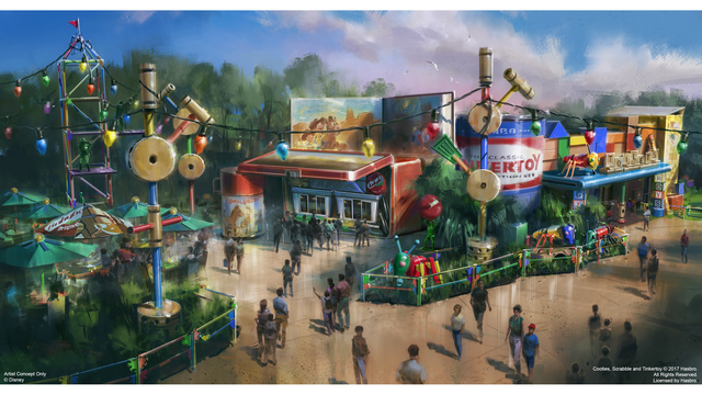 First look of 'Toy Story Land' coming to Disney's Hollywood Studios