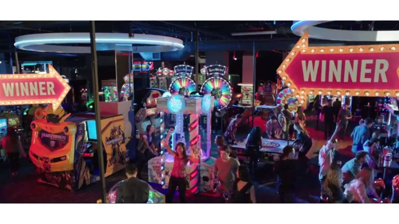 Dave And Buster S Celebrating Grand Opening Today In Tampa