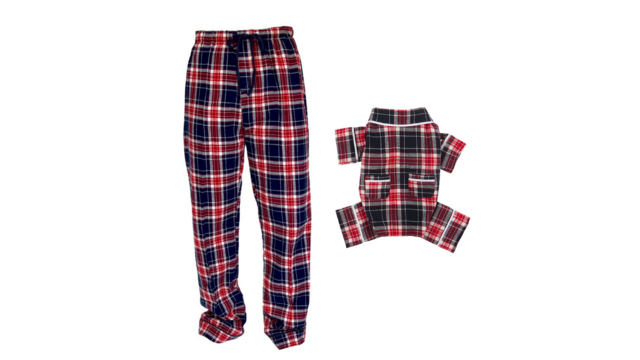 a34d33059f Now you and your dog can cozy up in matching pajamas