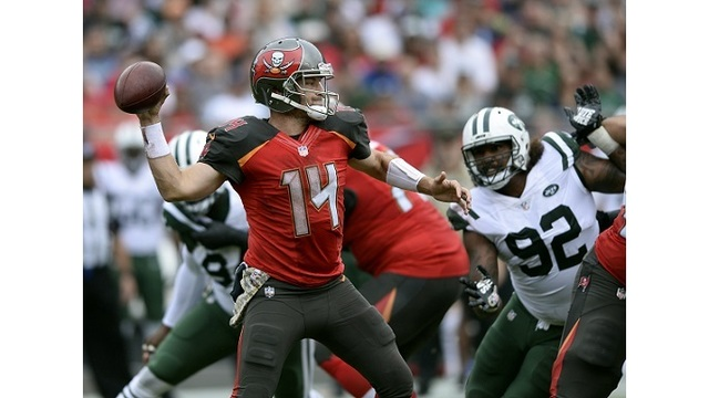 Fitzpatrick helps Bucs beat Jets 15-10, end 5-game skid