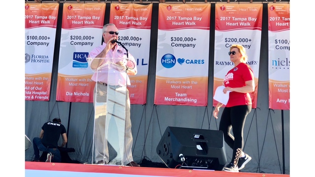 2017 Tampa Heart Walk: Thank you from News Channel 8's Stacie Schaible