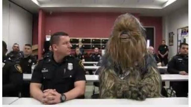 VIDEO: Star Wars-themed police department video goes viral