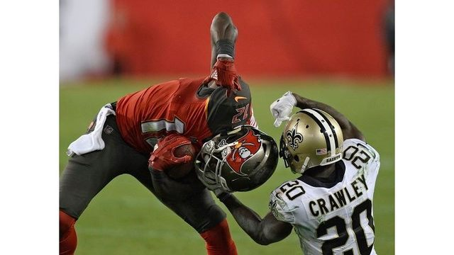 Winston throws late TD pass, Buccaneers beat Saints 31-24