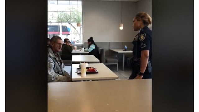 Police respond to viral video of homeless man kicked out of McDonald's