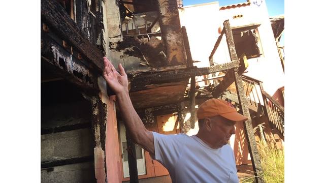 Rechargeable battery blamed for Treasure Island house fire