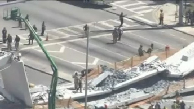 First Lawsuit Filed After Miami Bridge Collapse