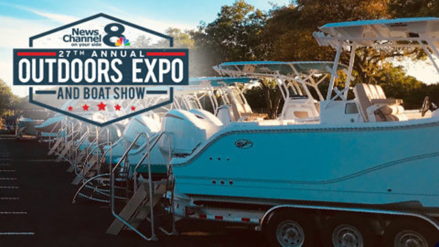 News Channel 8 hosts Outdoors Expo & Boat Show at Raymond James Stadium