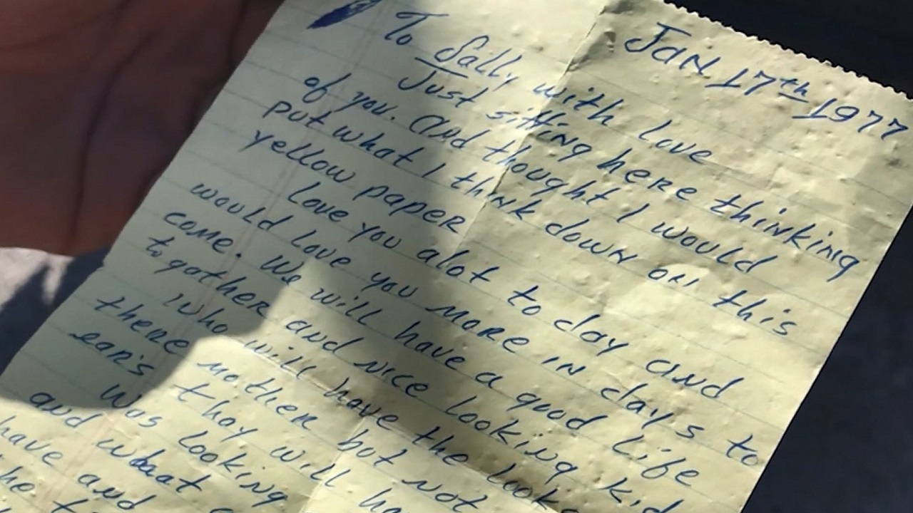 orlando woman receives love letter her father penned 41 years ago