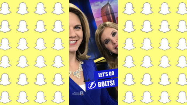 Show your fandom with Tampa Bay Lightning Snapchat filter
