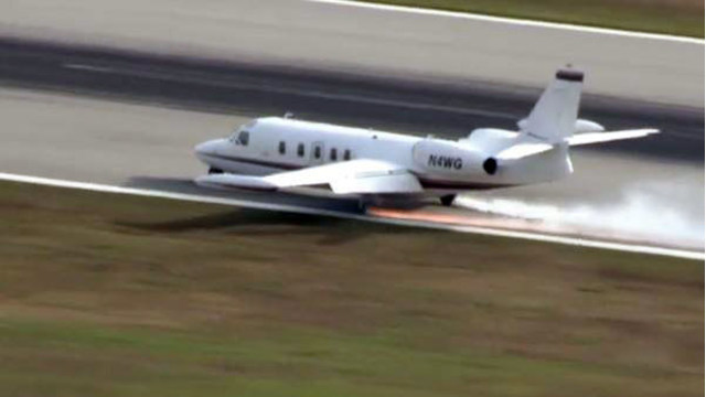 News Channel 8 recognized by AP for breaking news coverage of emergency landing