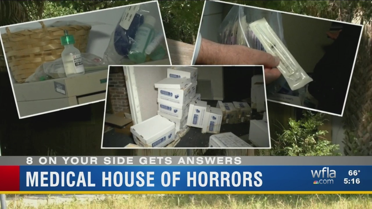Medical House Of Horrors   WFLA