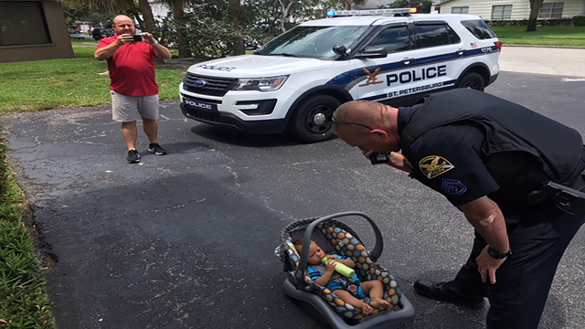 Police Search For Suspect That Stole Car With Baby In Back Seat Ditched Child Parking Lot