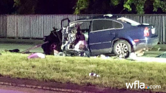Wrong-way driver killed in crash with semi in Plant City