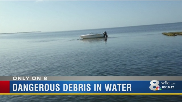 Dangerous Concrete Debris In The Tampa Bay Channel Impacting Boaters