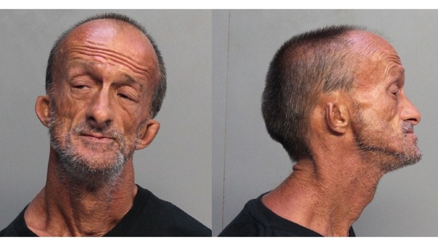 Homeless Florida man with no arms charged with stabbing tourist
