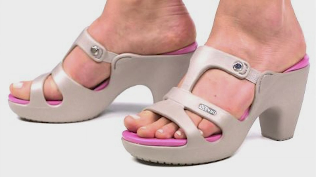 high heel crocs shoes selling out but why