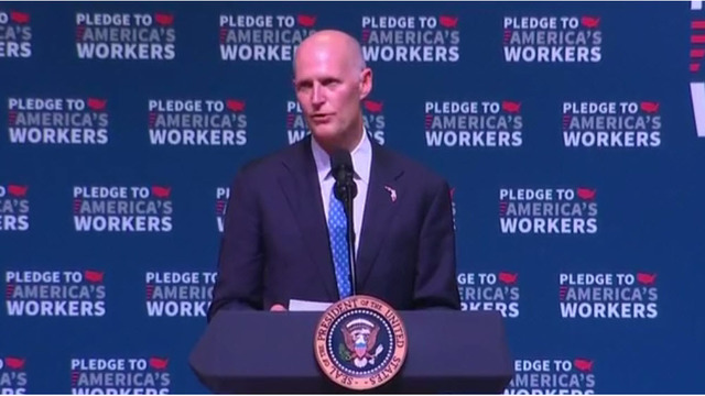 Governor Scott blames crisis of toxic algae, red tide on Congress
