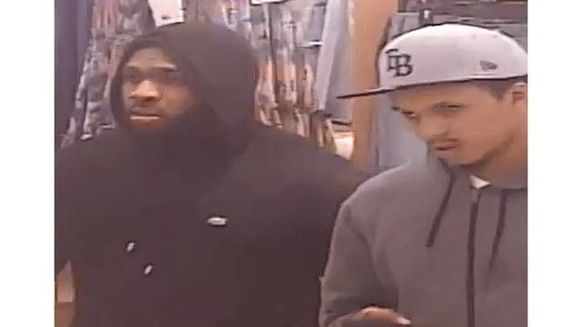 09b245e0d 2 thieves steal thousands worth of sneakers from Clearwater mall
