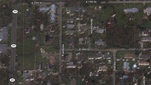 Map Of Lynn Haven Florida.How To See What Your Street Looks Like After Hurricane Michael
