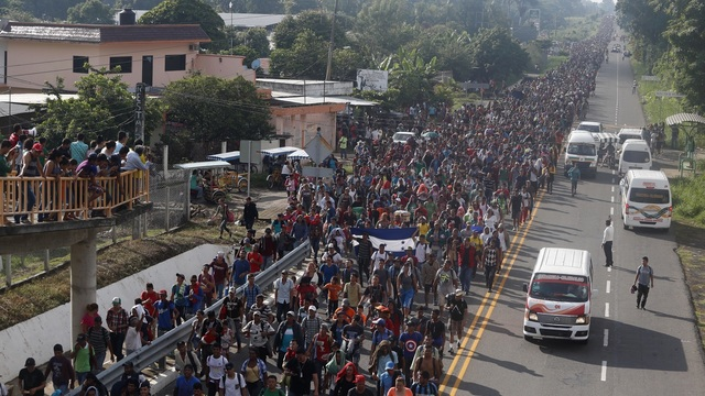 Migrant caravan members reject offer to stay in Mexico