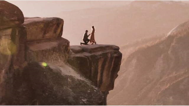 Photographer finds mystery couple in Yosemite wedding proposal photo