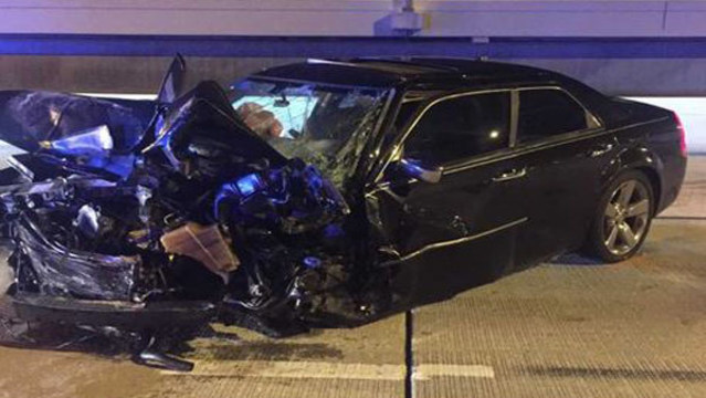 Woman critically injured when hit by wrong-way driver