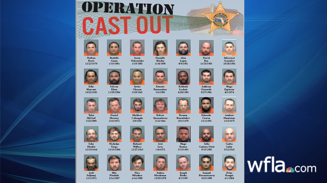 'Operation Cast Out' busts 35 unlicensed contractors in Madeira Beach