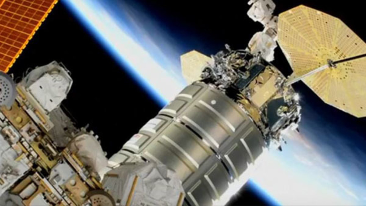 ice cream delivered to international space station