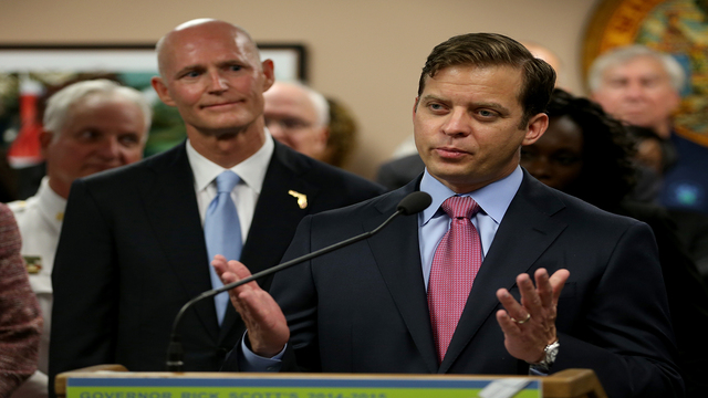 Former 3 day Florida governor has advice for possible 5 day governor Carlos Lopez Cantera