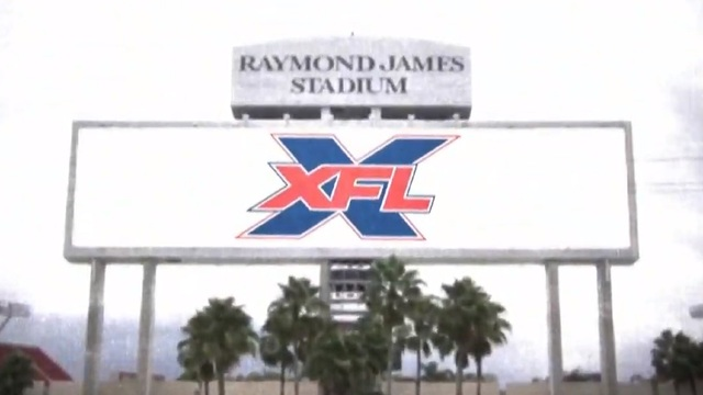 XFL team coming to Tampa Bay, to play at Raymond James Stadium