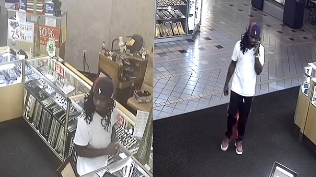 Lakeland police searching for man who snatched tray of necklaces, fled