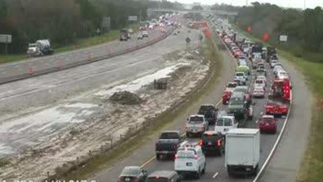 Traffic Backup On I 75 Florida Today - Control Traffic Foto In The Word