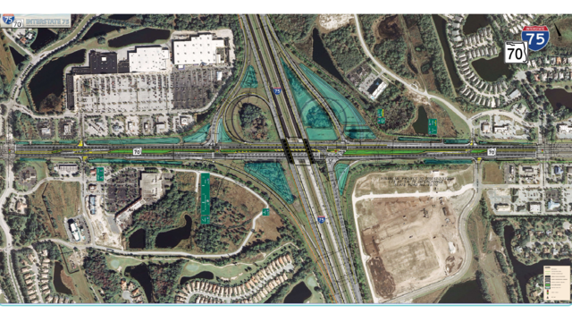 I 75 Traffic Map.Fdot New Traffic Pattern For I 75 In Manatee County Begins Thursday