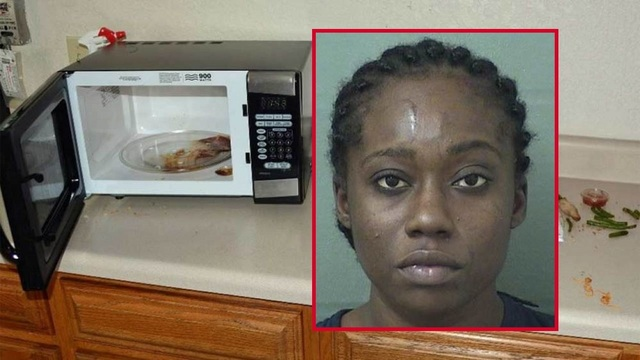 Florida woman breaks into police station, eats officer's lunch, leaves behind ID